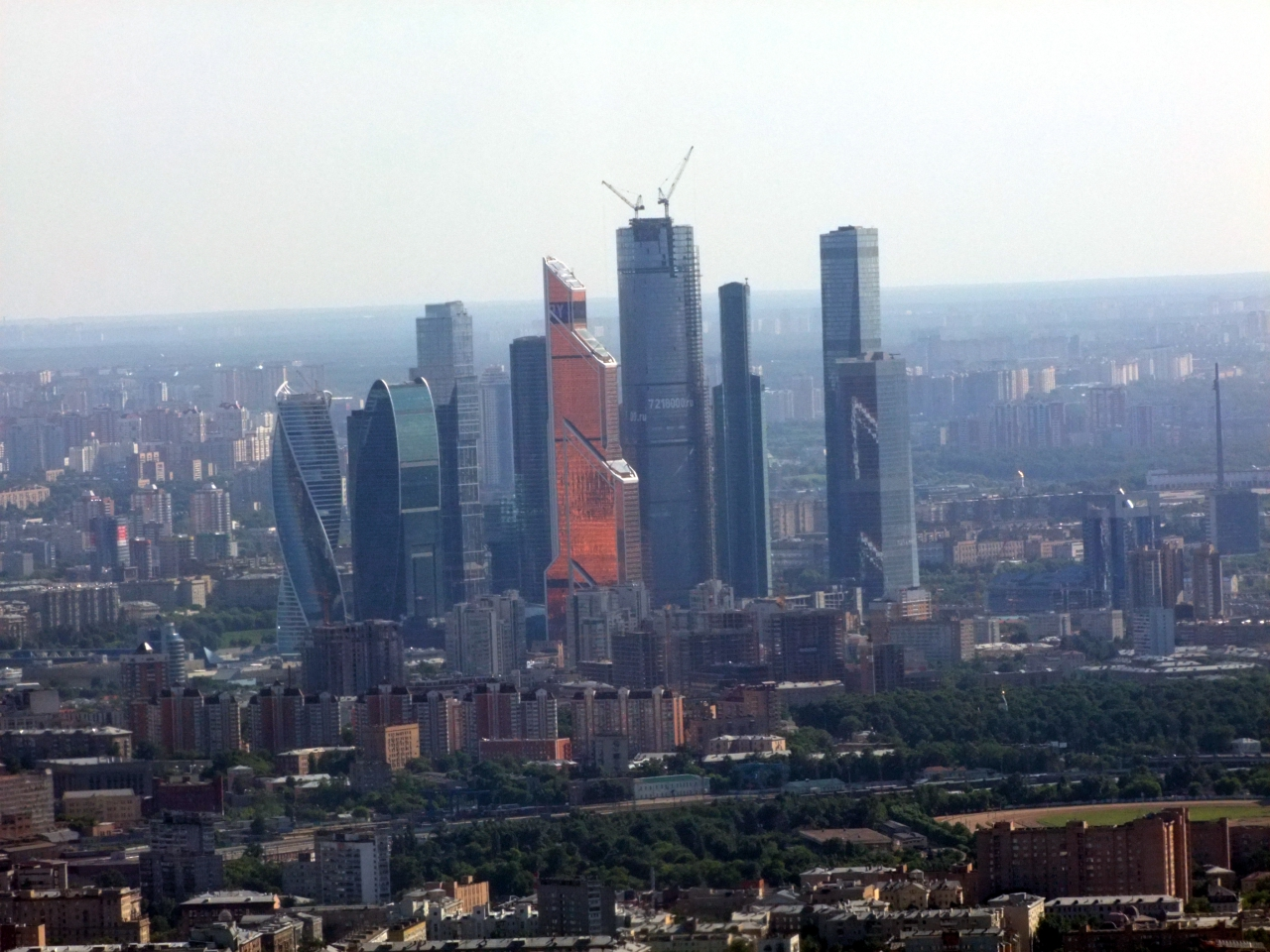 Москва сити начало строительства фото